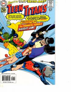 Lot Of 2 DC Comic Book Silver Age Teen Titans #1 and Vs JLA #6  MS20