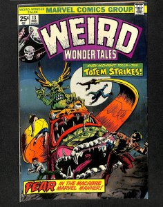 Weird Wonder Tales #13 (1975)