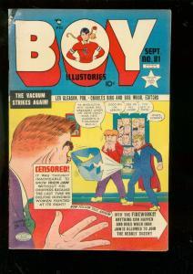 BOY COMICS #81 1952-CHARLES BIRO-IRON JAW-CRIMEBUSTER G