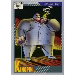 1991 Impel Marvel Universe: Series 2 KINGPIN #55