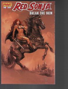 Red Sonja Break the Skin (Dynamite, 2011)