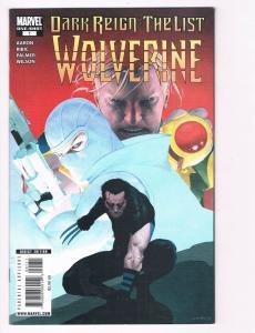 Dark Reign The List Wolverine # 1 NM Marvel Comic Book One-Shot X-Men Logan S80