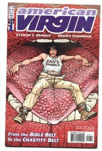 American Virgin #1 Vertigo/DC first issue comic book NM-