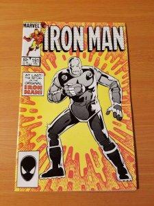 Iron Man #191 ~ NEAR MINT NM ~ 1985 MARVEL COMICS