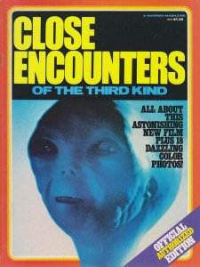 Close Encounters of the Third Kind '78 Magazine #1 VG; Warren | low grade comic