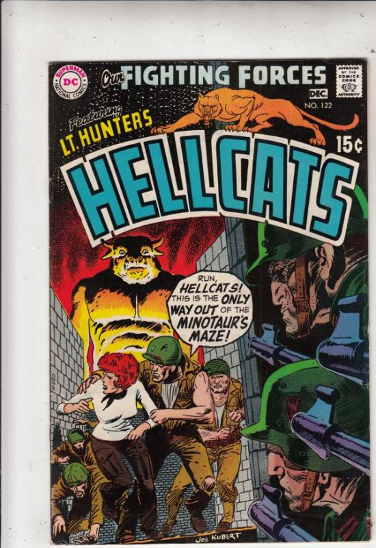 Our Fighting Forces #122 (Dec-69) VF+ High-Grade Lt. Hunter's Hellcats