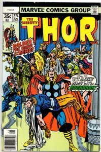 THOR #274 VF/NM God of Thunder Buscema Loki 1966 1978, more Thor in store