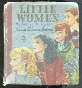 Little Women #757 1934-Katherine Hepburn Movie Edition-movie pix-hardcover editi