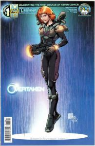 Overtaken #1B VF/NM; Aspen | save on shipping - details inside