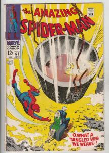 Amazing Spider-Man #61 (Jun-68) VG/FN Mid-Grade Spider-Man