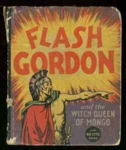 FLASH GORDON #1190-BIG LITTLE BOOK-WITCH QUEEN OF MONGO P
