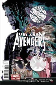 Uncanny Avengers #23A VF; Marvel | save on shipping - details inside