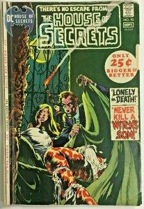 HOUSE OF SECRETS#93 VG- 1971 DC BRONZE AGE COMICS