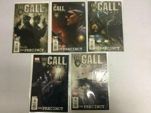 Call of Duty The Precinct set #1-5 8.0 VF (2002)
