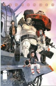 Descender #5 VF/NM; Image | save on shipping - details inside