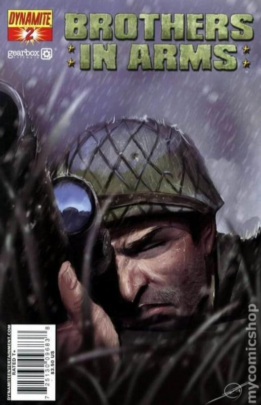 BROTHERS in ARMS #2, NM, WWII, War, Battle, 2008, more indies in store