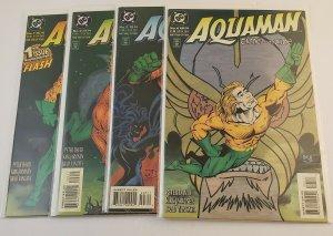 Aquaman Time And Tide  #1-4 Complete Set High Grade NM DC Comics 1993-1994