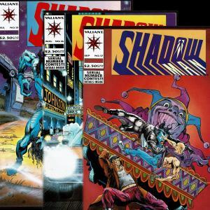 Shadowman #s 15 NM-, 16 VF+, 17 VF+ (1993, Valiant)