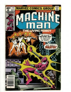 10 Marvel Comics Machine Man # 12 13 14 15 16 17 What If? # 21 22 37 38 J461