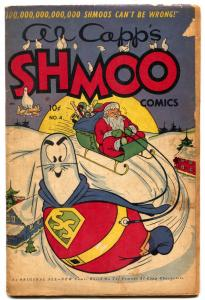 Al Capp's Shmoo #4 1950- Santa Claus Christmas cover G