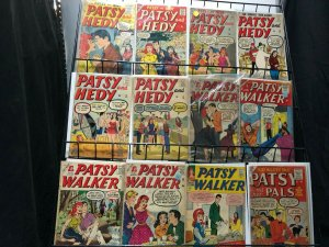 PATSY WALKER/ & HEDY/ & PALS 13 diff mostly 1956-1958 FR-G Mean Girls