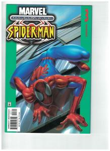 ULTIMATE SPIDERMAN 3 VF-NM  Jan 2001 ultimate reboot