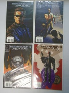 Terminator 3 Before the Rise run #1-4 8.0 VF (2003 Beckett)