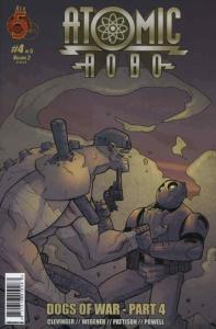 Atomic Robo: Dogs of War #4 VF/NM; Red 5   save on shipping - details inside