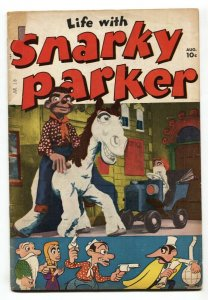 Life With Snarky Parker #1 1950 Obscure humor comic book Golden Age