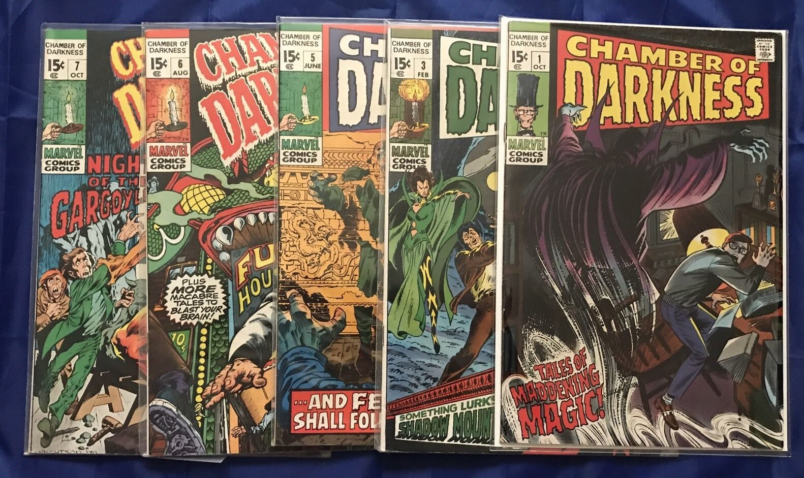 TALES OF THE DARKNESS #1 LOT OF 5 COPIES NM- IMAGE COMICS