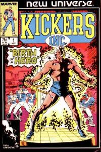 Kickers Inc. #1, Fine+ (Stock photo)