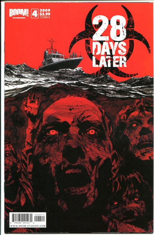 28 DAYS LATER 4, NM, Zombies, Horror, Walking Dead, 1st, 2009, more in store, ZC