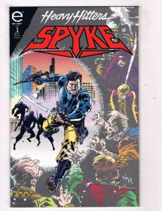 Spyke #1 VF Epic Comics Modern Age Comic Book July 1993 DE40 AD14