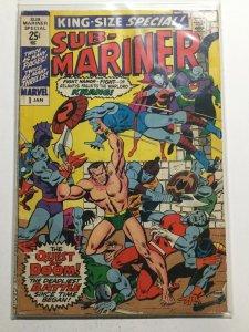 SubxMariner Special 1 Good Gd 2.0 Marvel