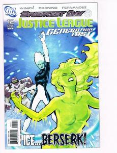 Justice League Generation Lost # 12 DC Comic Books Awesome Issue WOW!!!!!!!! S24