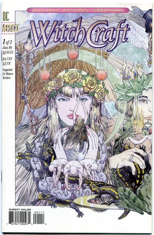 WITCH CRAFT #1 2 3, NM-, 1994,  3 issues, Witches, more Vertigo in store