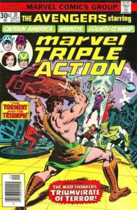 Marvel Triple Action (1972 series) #31, Fine+ (Stock photo)