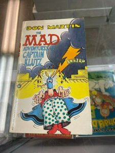 The MAD Adventures of Captain Klutz Digest