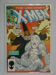Uncanny X-Men #190 Direct edition 8.0 VF (1985 1st Series)