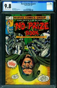 Marvel No-Prize Book #1 CGC 9.8 Night Nurse-Stan Lee 2015993004