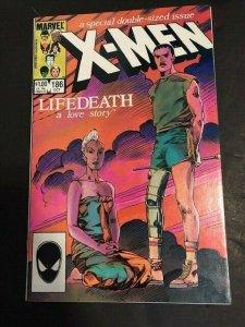 Marvel X-Men #186 Very Fine (8.0) LIFEDEATH a love story 1984 (796J)