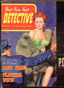 Best True Fact Detective Magazine July 1949- Playgirl Wife- Last Fling G