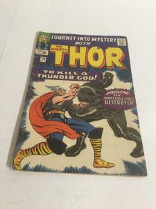 Journey Int Mystery 118 Vg+ Very Good+ 4.5 First Destroyer Marvel Silver Age