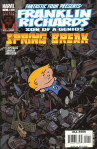 Franklin Richards: Spring Break #1 VF/NM; Marvel | save on shipping - details in