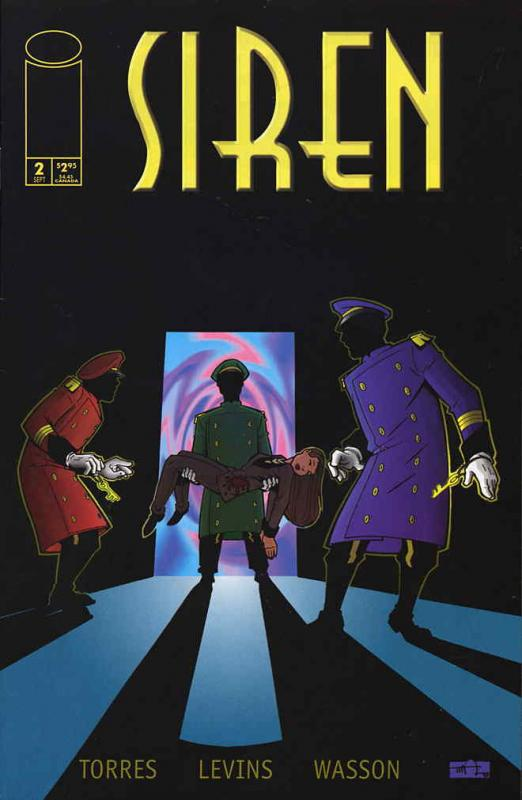 Siren: Shapes #2 VF/NM Image - save on shipping - details inside