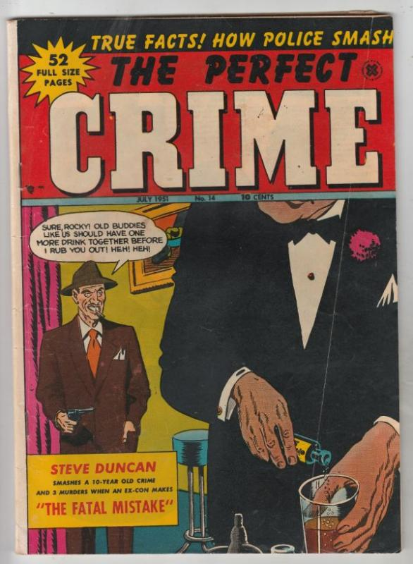 The Perfect Crime #11 (Jan-51) VG/FN+ Mid-Grade The Police