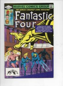 FANTASTIC FOUR #241, VF+, Black Panther, Byrne, 1961 1982, Marvel