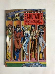 Ex-Mutants Gods Or Men Vf Very Fine 8.0 Sc Softcover Eternity Comics