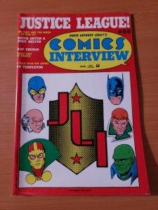 David Anthony Kraft's Comics Interview #66 ~ VERY FINE VF ~ 1989 JLI Batman