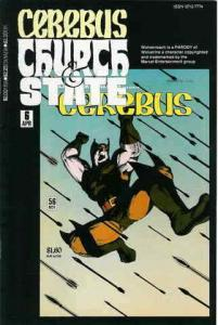 Cerebus: Church And State #6 FN; Aardvark-Vanaheim | save on shipping - details